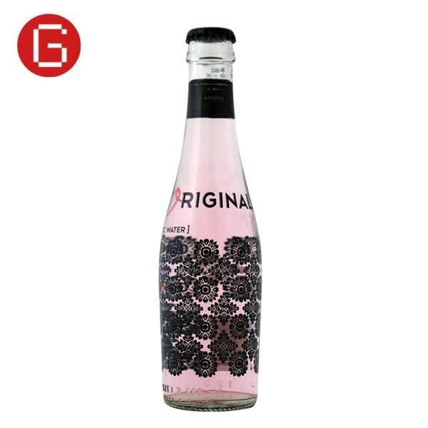 tónica premium original Berries color rosa
