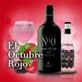 Gin tonic con ginebra Nº0 y tónica original Berries