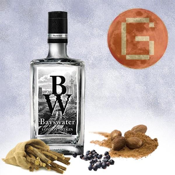 Ginebra Bayswater + 3 botánicos