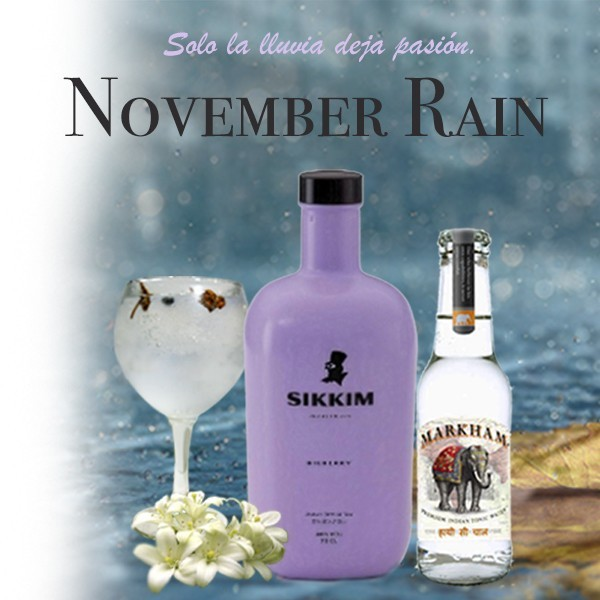 Pack Gintonic Sikkim gin y Markham