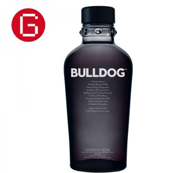 Ginebra bulldog gin