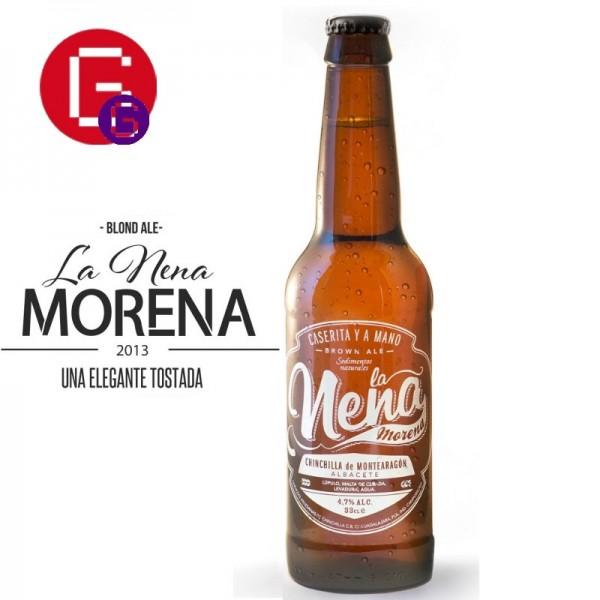Cerveza La nena Morena
