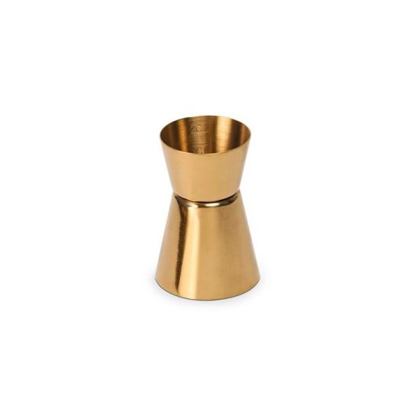 Medidor jigger dorado 2-4cl