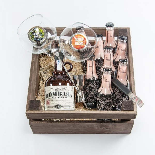 "Pack Regalo Gin Tonic ""Misterio Africano"""