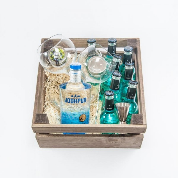 "Pack Regalo Gin Tonic ""Blue Winter"""