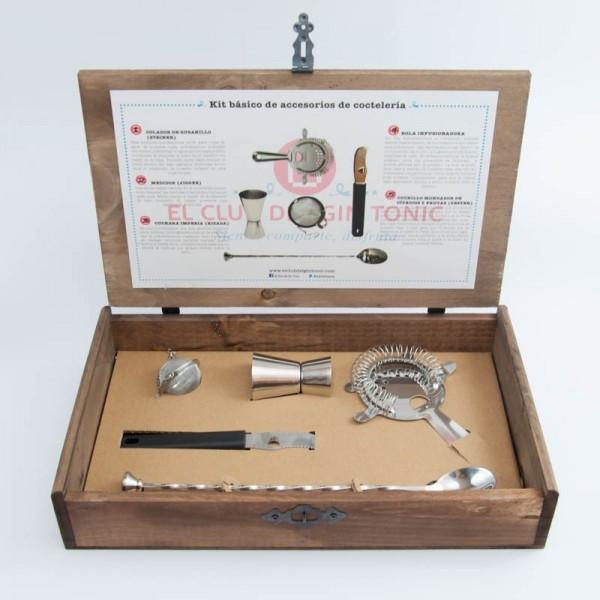 Kit accesorios para preparar Gin Tonic