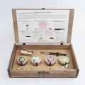 Kit para preparar Gin Tonic con botánicos y accesorios de coctelería