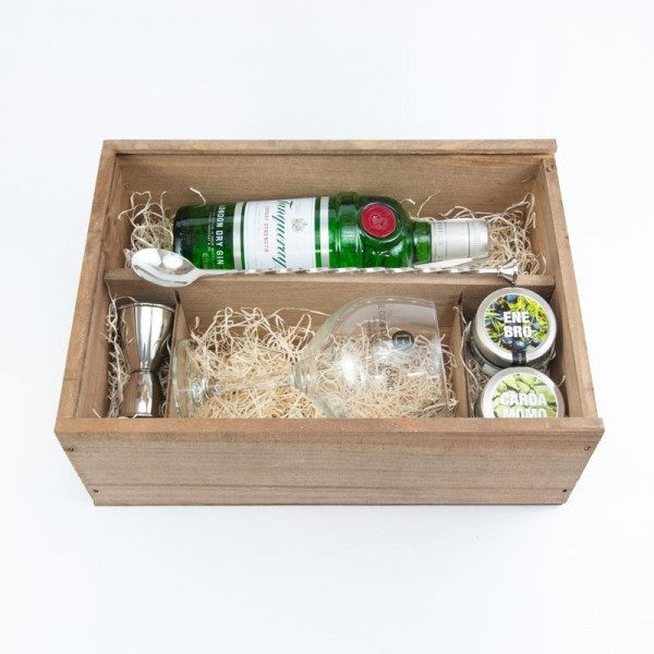 Pack regalo Ginebra tanqueray