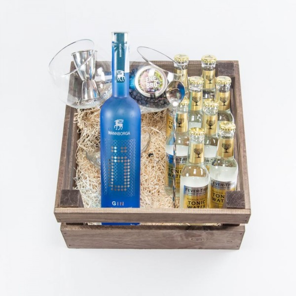 Pack Regalo Gin Tonic Wannborga con Fever Tree. Ecogin