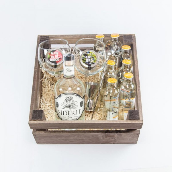 Pack gintonic regalo ginebra Siderit