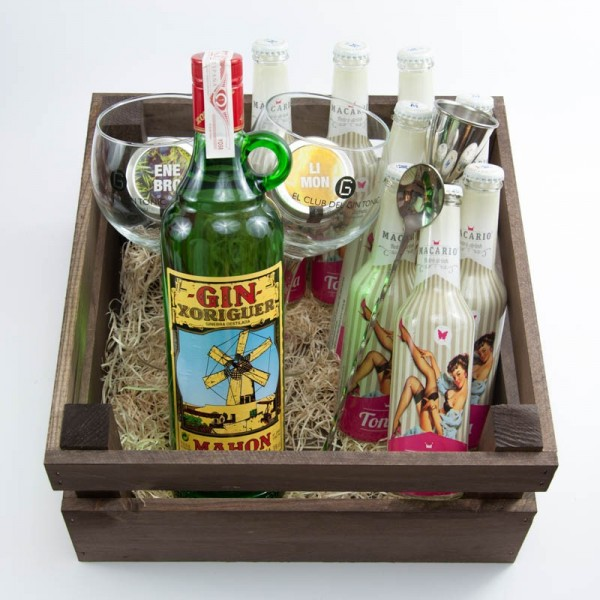 Pack regalo ginebra Xoriguer