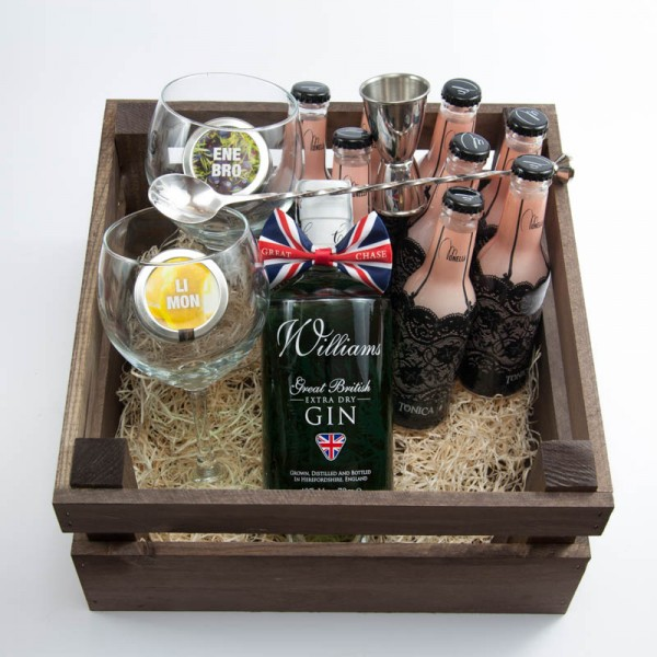 "Pack Regalo Gin Tonic con Williams Chase y Tónica Monelli ""London Breeze"""