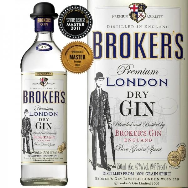Ginebra Brokers London Dry Gin